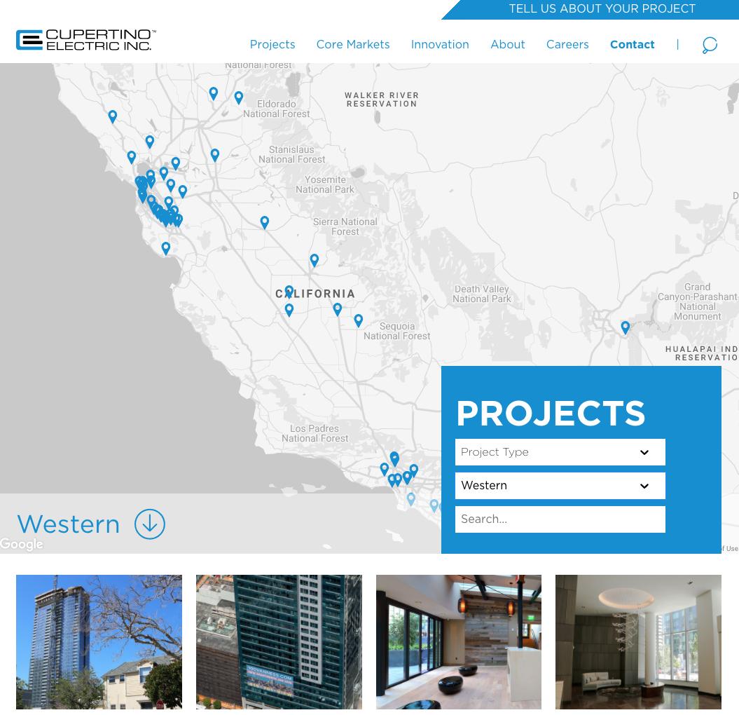 Western CEI projects